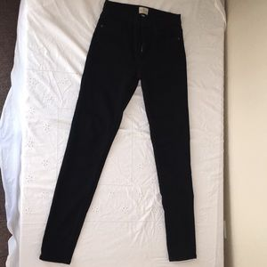 Black French Connection Skinny Jeans
